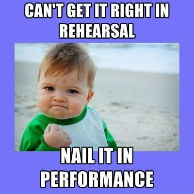 rehearsal success baby performance Music FAILS g rated