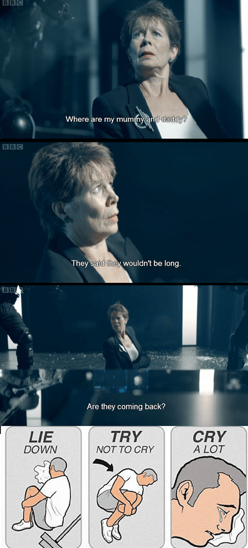 try not to cry,doctor who,series 7