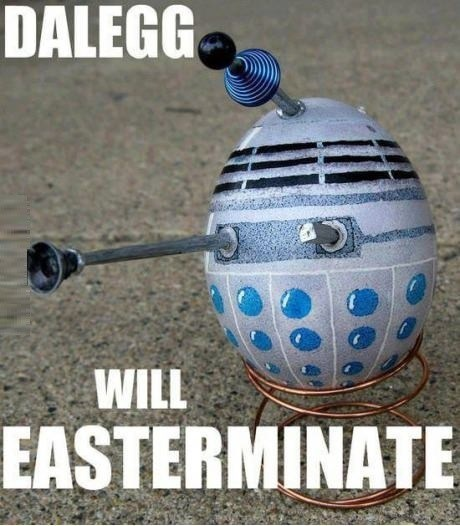 easter daleks doctor who - 7206223104