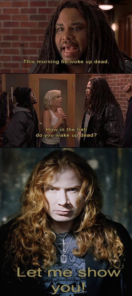 megadeth scary movie dave mustaine - 7206707200