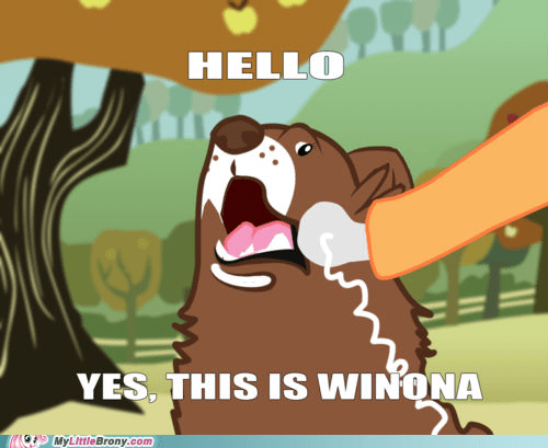 Oh, hi, Winona.