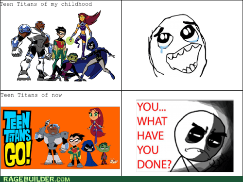 you what have you done tv shows teen titans cartoons - 7207798784