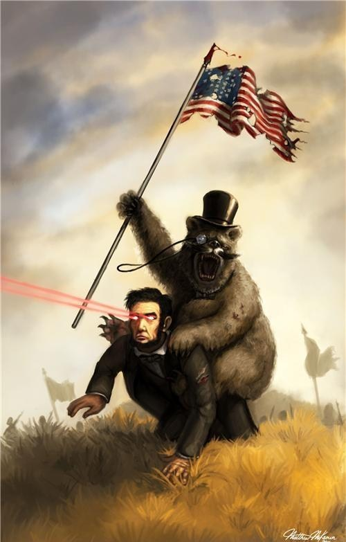 lincoln history gifs bears america lasers - 7208415232