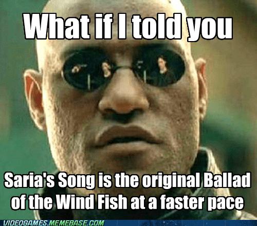 Memes video games zelda saria's song - 7208600064