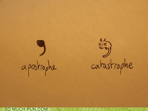 apostrophe,punctuation,Cats