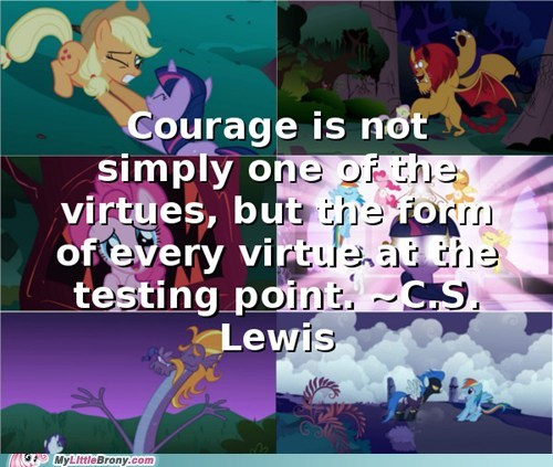 quotes ponies my little pony cs lewis - 7213038592