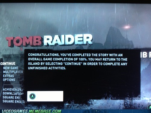 forgotten Tomb Raider completed - 7215783680
