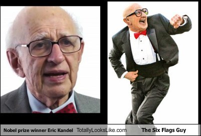Nobel prize winner Eric Kandel Totally Looks Like The Six