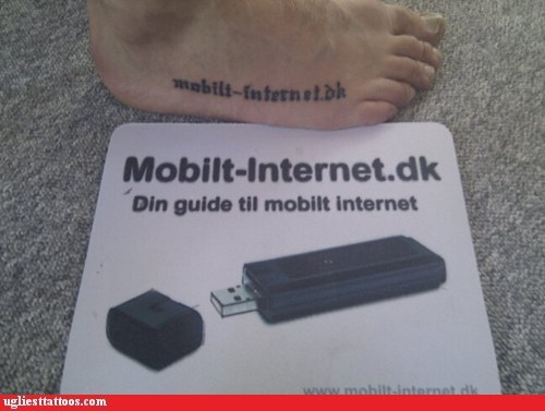 wtf,ads,tattoos,funny,USB,g rated,Ugliest Tattoos