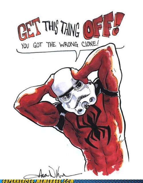 Spider-Man clone stormtrooper - 7217072640