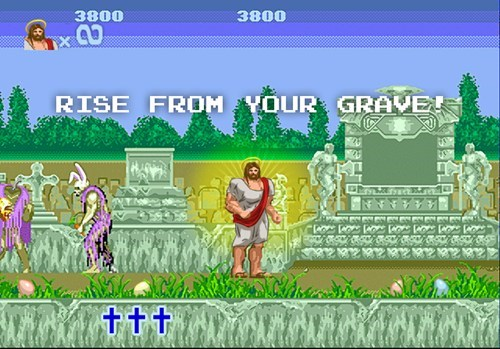 jesus easter altered beast - 7220341760