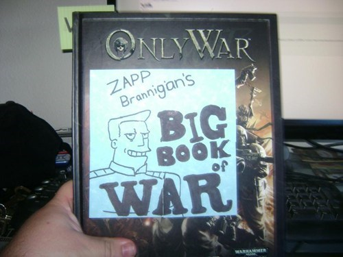 zapp brannigan cartoons only war futurama - 7220497664