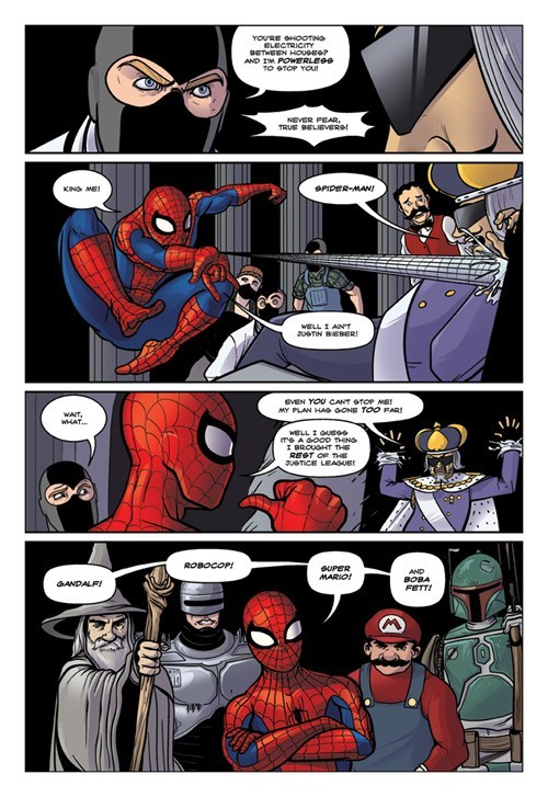 Spider-Man dr-mcninja april fools - 7221891072