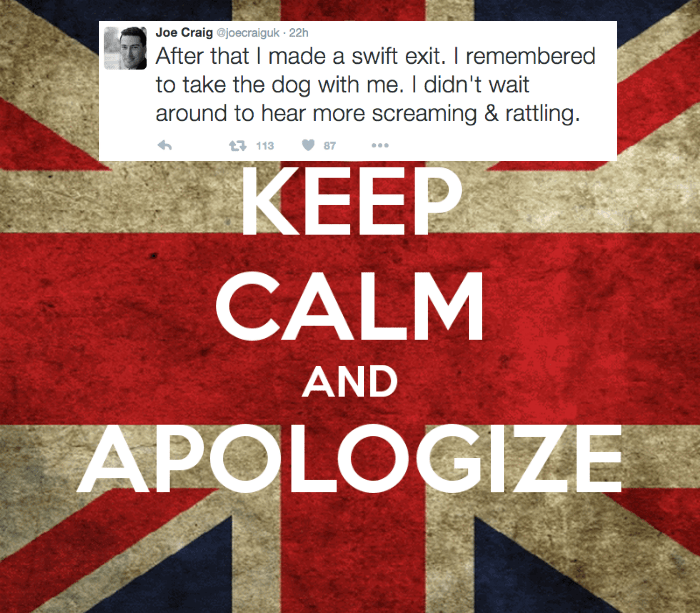 dogs twitter list British apologies sexy times - 722437