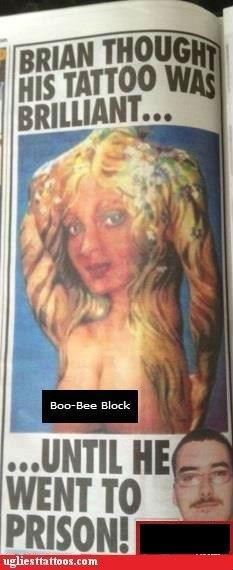sexy tattoos prison newspaper Ugliest Tattoos
