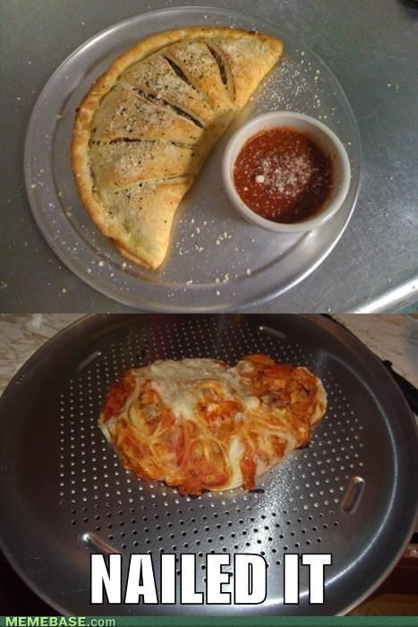 cooking,Calzone,Nailed It