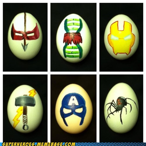 art eggs avengers - 7228352768