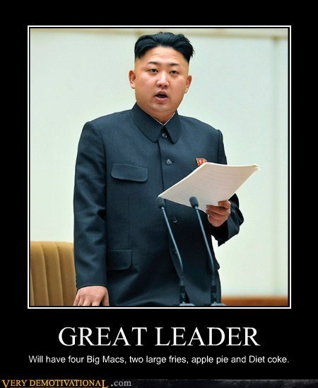 hungry North Korea great leader - 7228657664