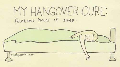 hangover cure Sticky Comics comics sleeping - 7228899072