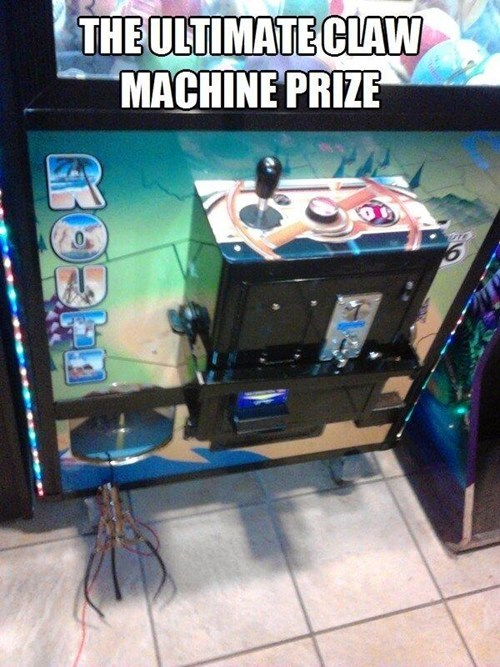 prizes,claw machines,fail nation,g rated