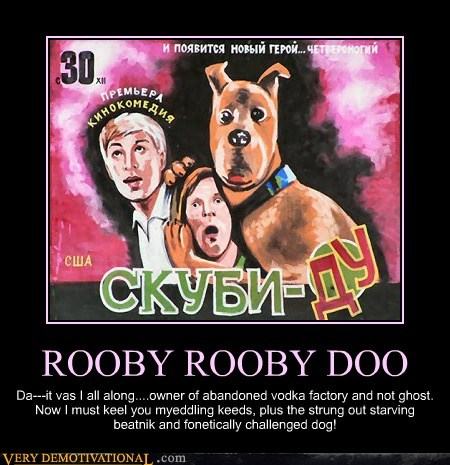 scooby doo,monster,Soviet Russia