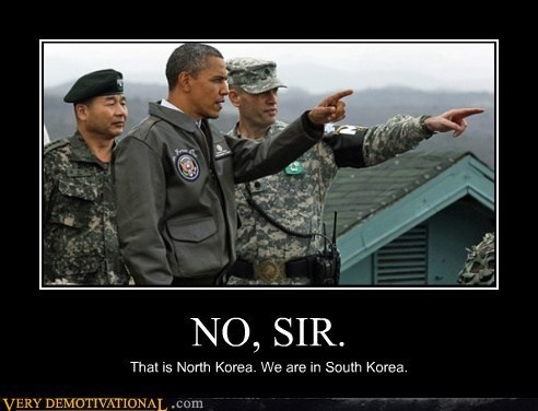 obama North Korea silly
