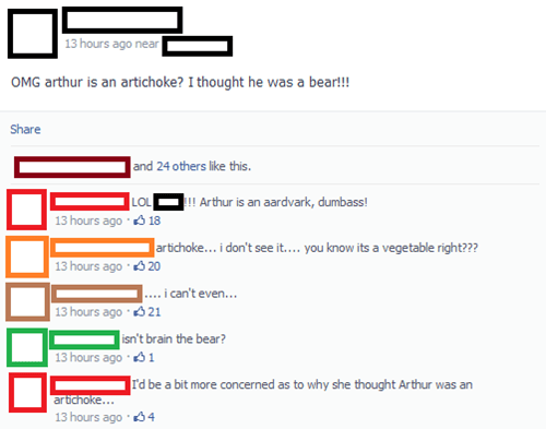 artichoke,arthur the aardvark,arthur,failbook