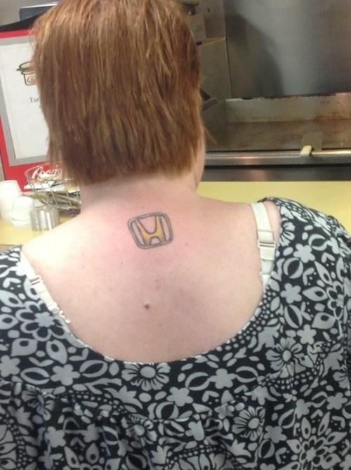 logos honda cars back tattoos - 7232236800