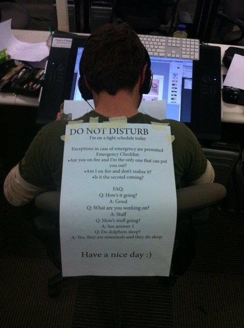 computers,do not disturb,information technology,monday thru friday,g rated