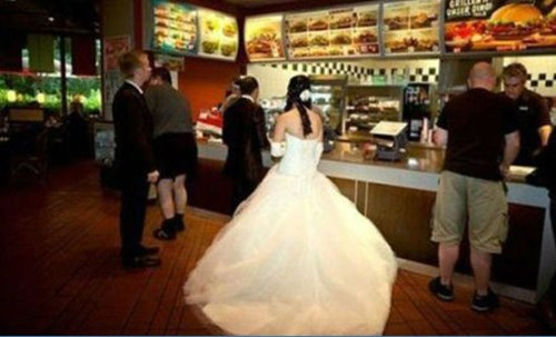 fats food formal brides