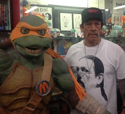 wtf michelangelo ninja turtles Danny Trejo - 7232538368