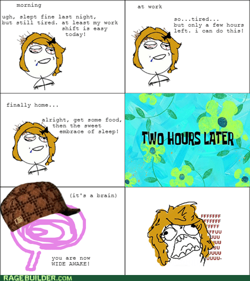 sleeping,scumbag brain