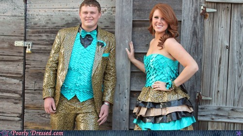 duct tape,homemade clothes,prom