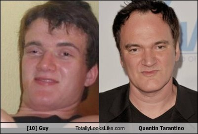 ten guy,totally looks like,quentin tarantino