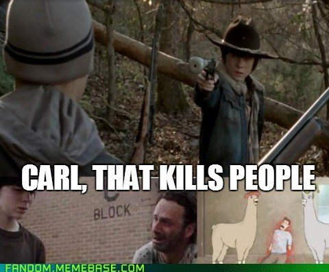 carl TV The Walking Dead - 7237751552