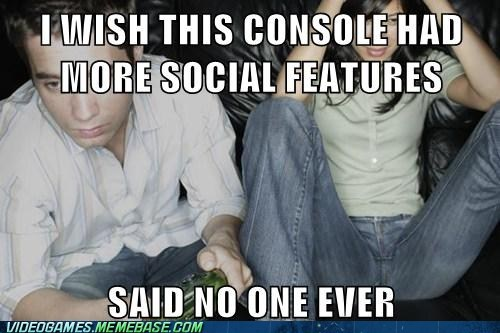 share,social features,Sony,gamers
