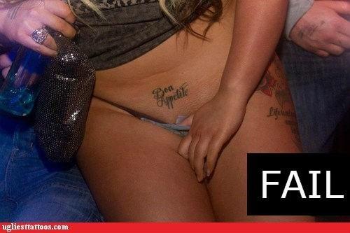 club bon appetite crotch tattoos - 7239789056