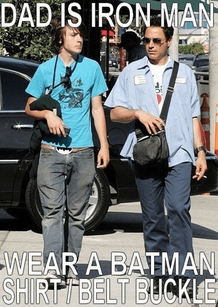 robert downey jr iron man batman