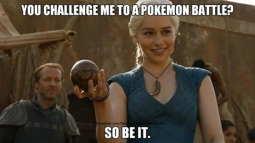 Pokémon Game of Thrones skorupi khaleesi - 7240249856
