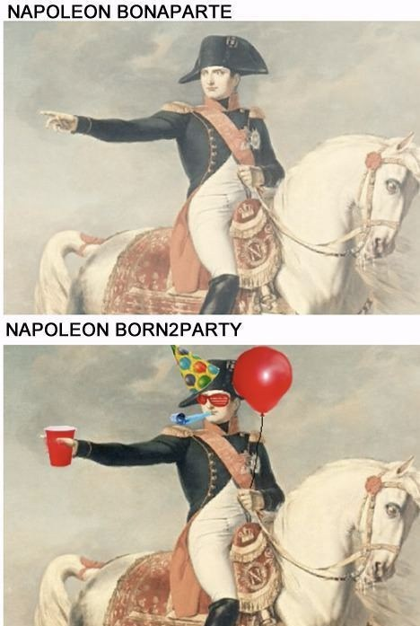napoleon bonaparte,Balloons,Party