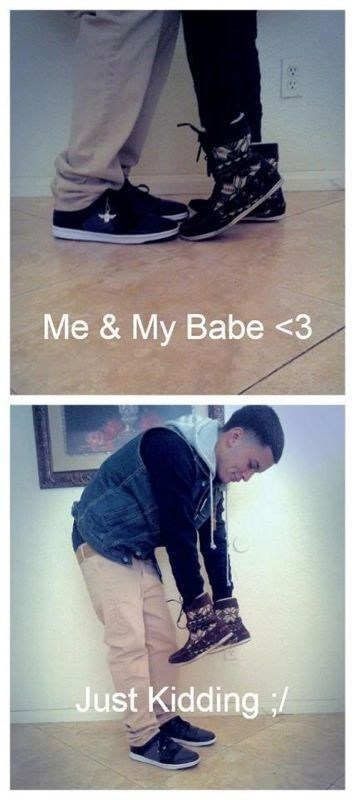 forever alone,shoes,trolling
