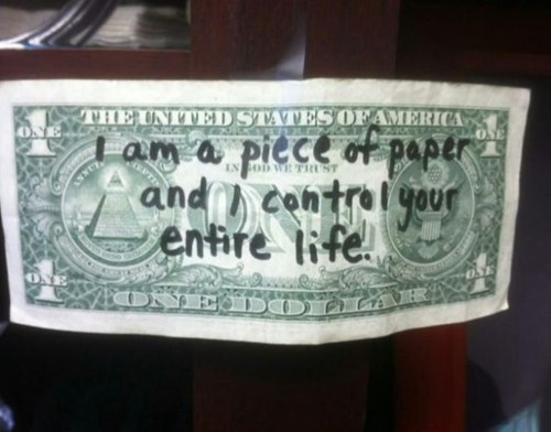 control dollars money
