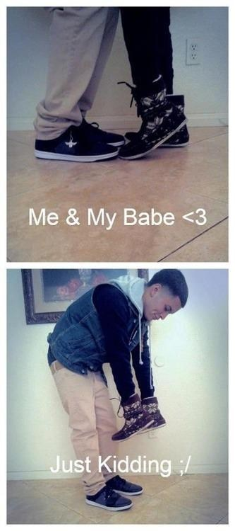 forever alone shoes just kidding dating fails g rated - 7240356608