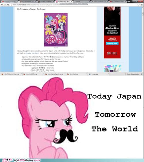 ponies Bronies pinkie pie Japan - 7240433664