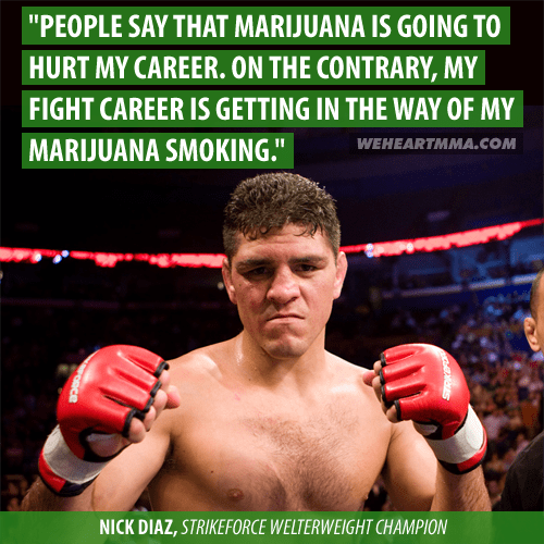 drugs,marijuana,420,mma,fighting