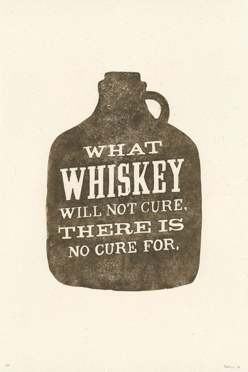 whiskey,universal cure,cured