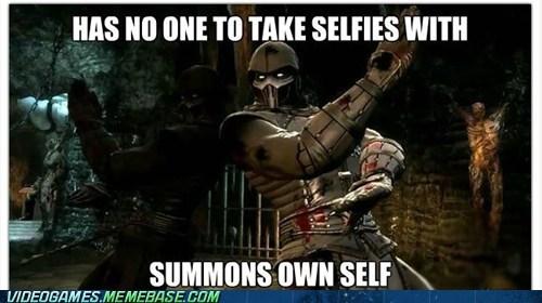 selfie noob saibot Mortal Kombat - 7240712960