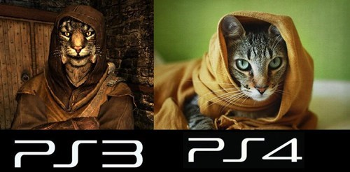 playstation,khajiit,Skyrim