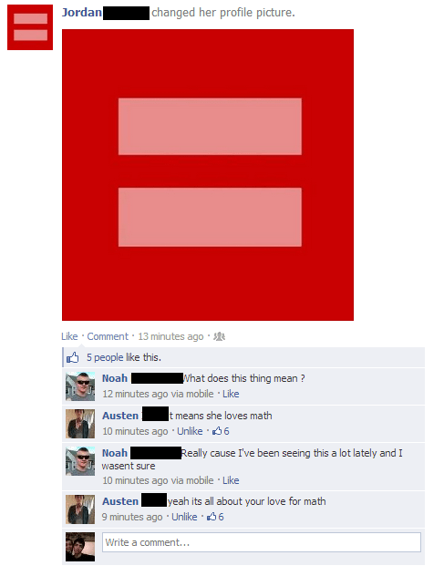 equality,red equality,math
