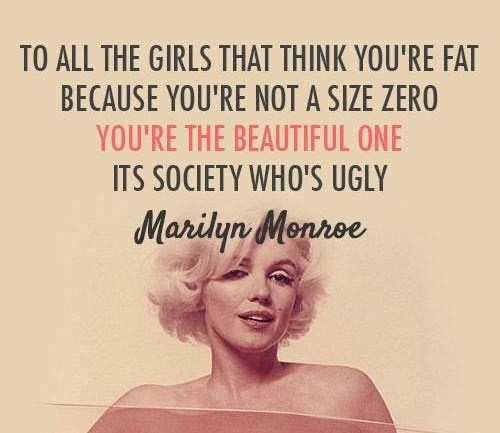 marilyn monroe,beauty,quote